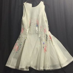 ASOS mesh skater dress